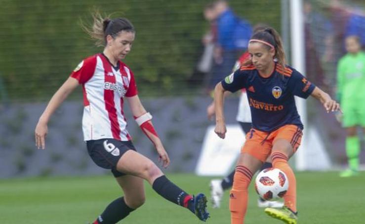 Athletic-Valencia, en imágenes