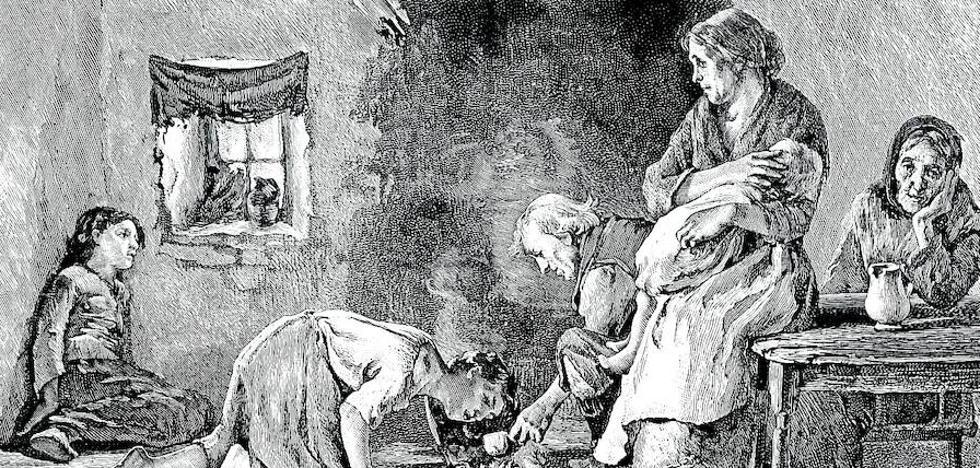 Petirisantz, miseria eta ezbeharra