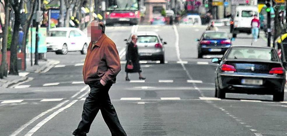 Ocho de cada diez conductores que atropellan a un peatón en Bilbao son hombres