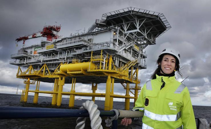 Así es el parque eólico de Iberdrola en el mar Báltico
