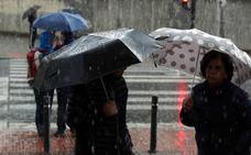 Euskalmet: «Nunca habíamos tenido en octubre un frente frío como éste»