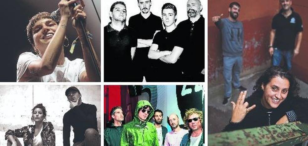 Los grupos vascos que calentarán la semana de los MTV