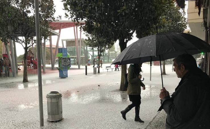 El temporal toma Euskadi y la cornisa cantábrica