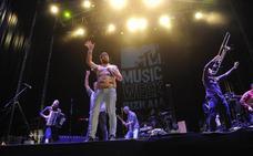 Frío comienzo de la semana de conciertos de la MTV