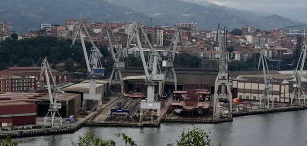 La plantilla de La Naval se encerrará esta noche en el astillero por el ERE