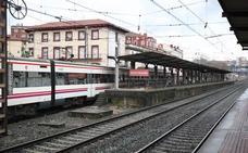 El mal tiempo interrumpe el servicio de Cercanías entre Barakaldo y Santurtzi durante cinco horas