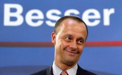 Un antiguo rival de Merkel, en cabeza para liderar la CDU