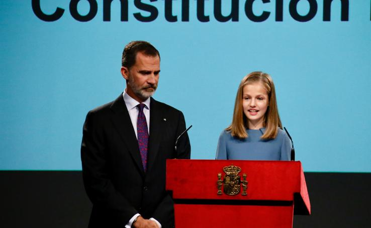 Los 13 años de la princesa Leonor, en imágenes