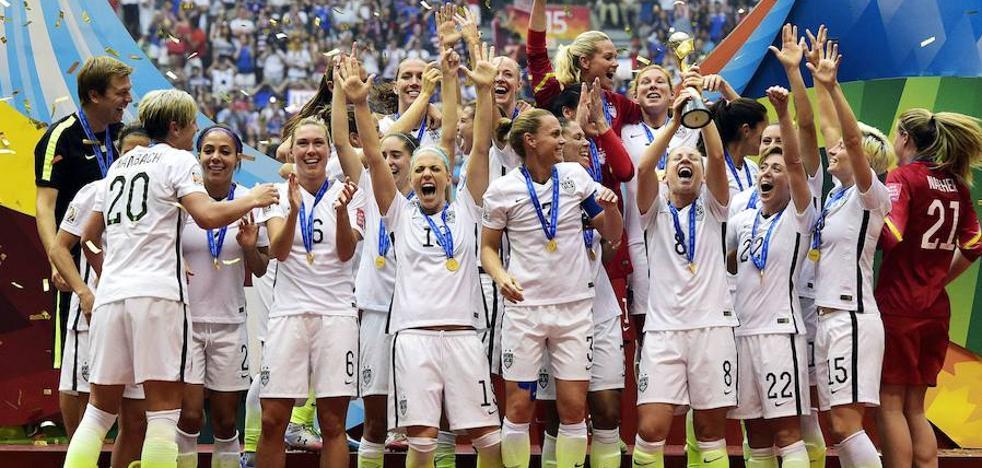 La brecha en los Mundiales: 699 millones para ellos y 44 para ellas