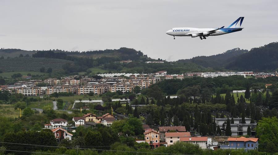 El aeropuerto de Bilbao se queda por ahora fuera del nuevo sistema de aproximación por GPS