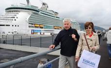 El Puerto de Bilbao cierra la temporada de cruceros con un «récord» de 86.500 pasajeros