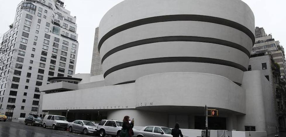 Guggenheim beken bostgarren deialdia, New Yorken egonaldia egiteko