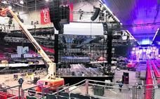 Así es el escenario de la gran gala de la MTV en el BEC