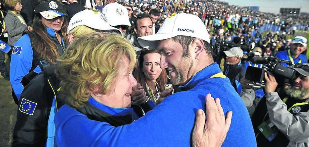«No hay nada igual en el mundo del golf que la Ryder»