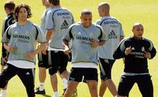 Solari y su admiración por Ronaldo, el 'conductor de rallies'