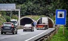 Uno de los túneles de acceso al puerto de Bilbao cerrará a partir del martes