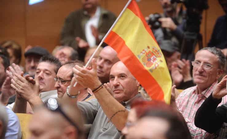 Mitin de Vox en Bilbao