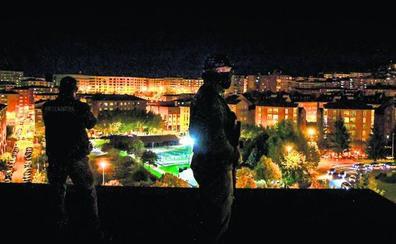 El BEC se blinda para la gala de los MTV: una noche con los tiradores de la Ertzaintza
