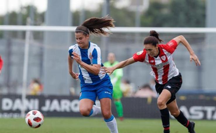 El partido entre el Espanyol y el Athletic, en imágenes