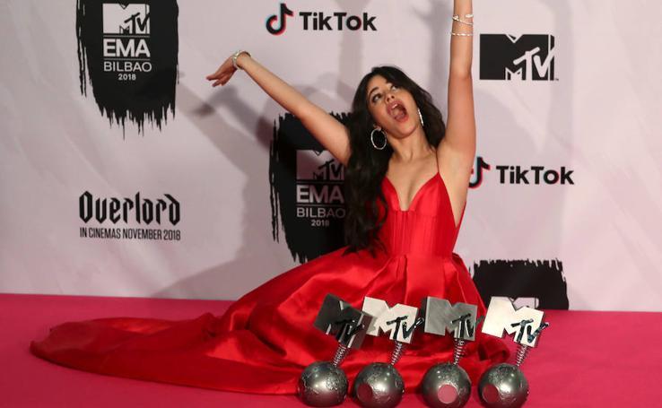 Los Europe Music Awards de la MTV en imágenes