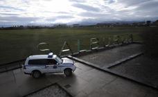 Las imágenes del dispositivo de búsqueda en el humedal de Salburua