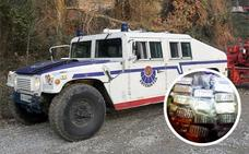 Despliegue sin precedentes de la Ertzaintza en Vitoria en busca de un traficante de droga