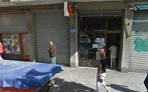 Atraca un estanco en Getxo y se lleva 600 euros de botín