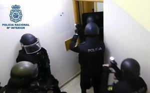 Desarticulan un «supermercado de la droga» en Logroño que operaba también en Álava