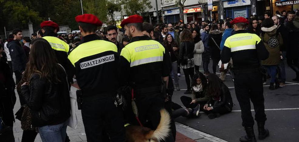 La incorporación de 150 agentes dispara a 68 millones el gasto de personal de la Policía de Bilbao