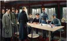 El fin de la primera guerra mundial fue una fiesta para Erandio