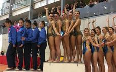 Las gimnastas de Xixili, de Bermeo, acumulan triunfos a las puertas del Campeonato de España
