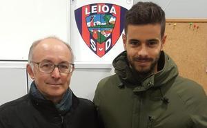 «El Leioa es un buen equipo donde prima el compañerismo», destaca Mikel Fernández