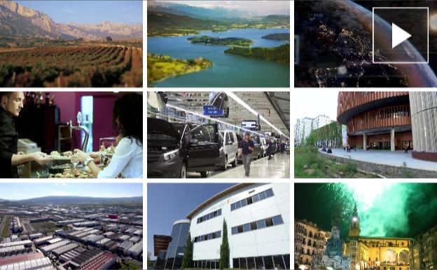 Álava y Vitoria emitirán en Europa 9 vídeos con sus atractivos turísticos y de inversión