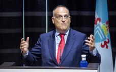 Tebas anuncia el inicio de trámites legales para que el Girona-Barcelona se juegue en Miami