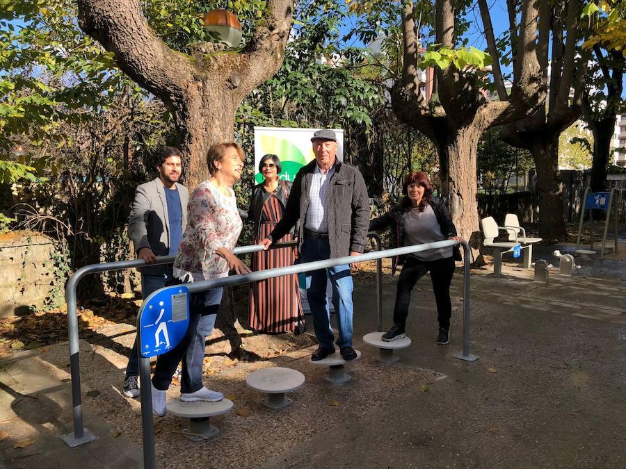 Un parque biosaludable estimula el envejecimiento activo en Durango