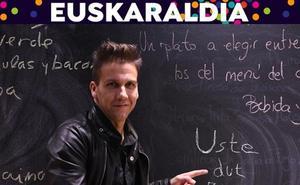 «Hasta los abuelos que solo saben cuatro palabras de euskera las usan con sus nietos»