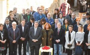 Bilbao rinde homenaje a las víctimas con la ausencia de los representantes del PP