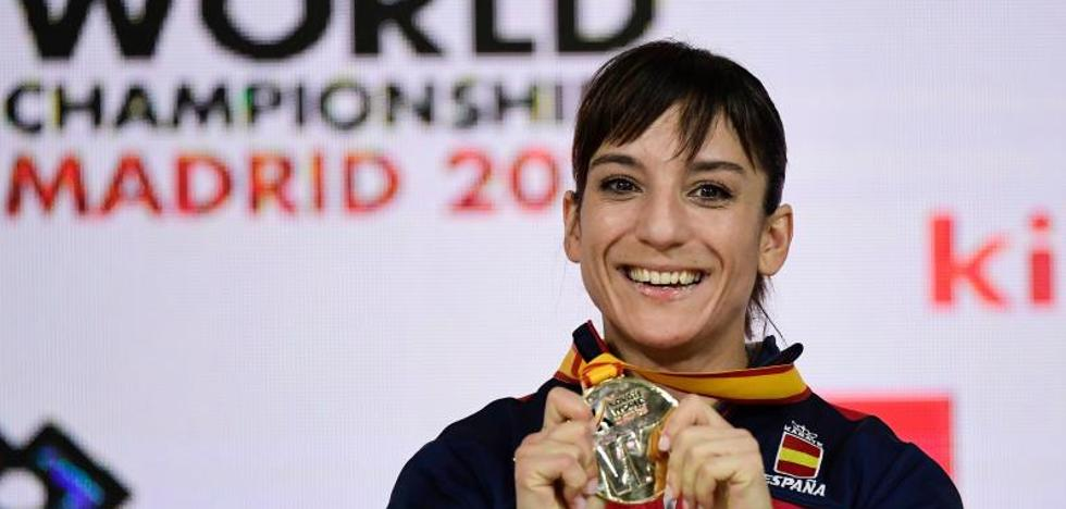 Sandra Sánchez, primera española de la historia campeona del mundo