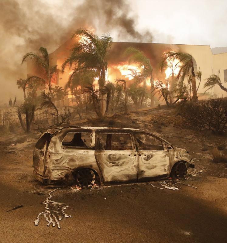 Un incendio en California deja nueve muertos