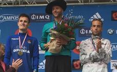 Iván Fernández, tercero en la Behobia-San Sebastián
