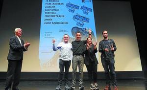 La memoria histórica de 'Cunetas' ganó el Festival de cortometrajes