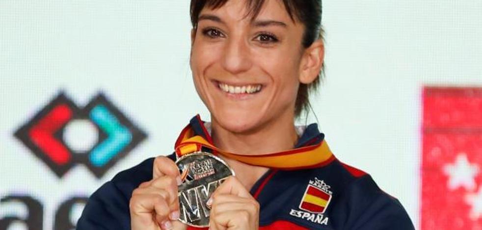 Sandra Sánchez, campeona mundial de katas