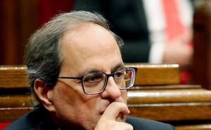 Torra reafirma su compromiso con hacer efectiva la república y desafía a Sánchez
