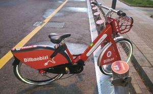 Bloquean las nuevas altas al servicio de bicicletas eléctricas de Bilbao