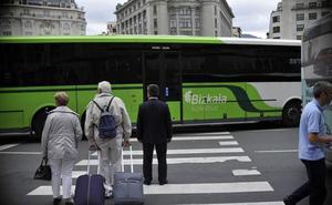 Tercera jornada de paros en Bizkaibus con importantes retrasos en el servicio