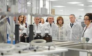 Álava inaugura el laboratorio insignia del polo farmacéutico vasco