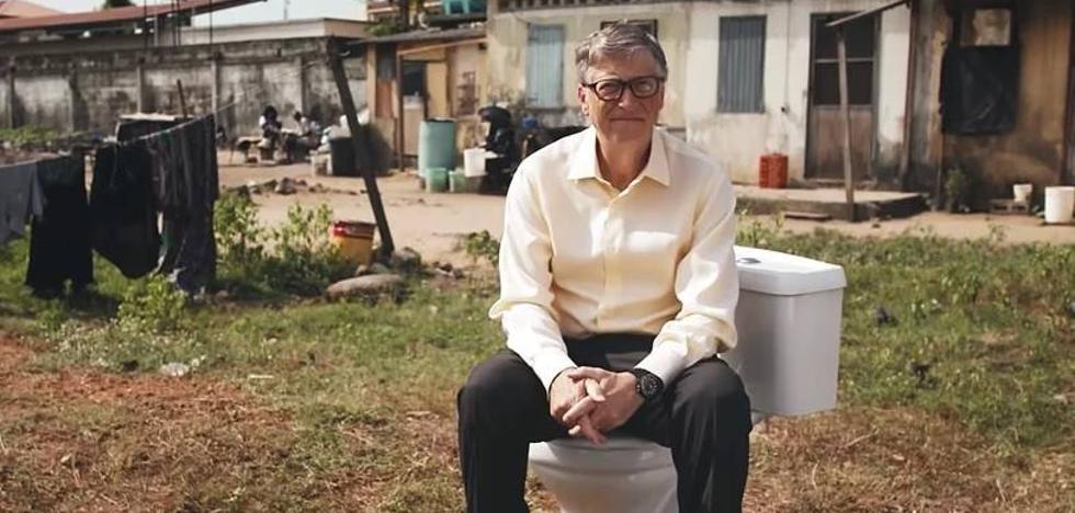 Bill Gates presenta su retrete ecológico