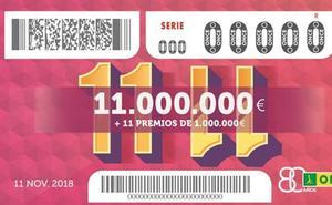 Un vecino de Sodupe gana un millón de euros en el sorteo extra de la ONCE