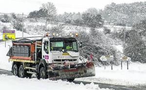 Álava movilizará a 230 personas y un centenar de vehículos contra la nieve