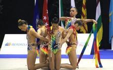 Una coreografía digna del oro
